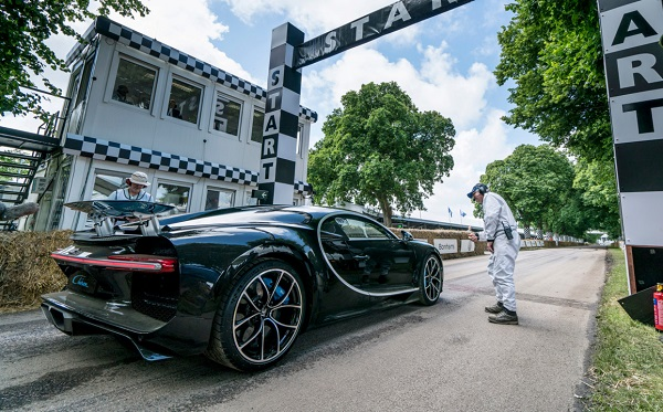Bugatti Chiron Goodwood