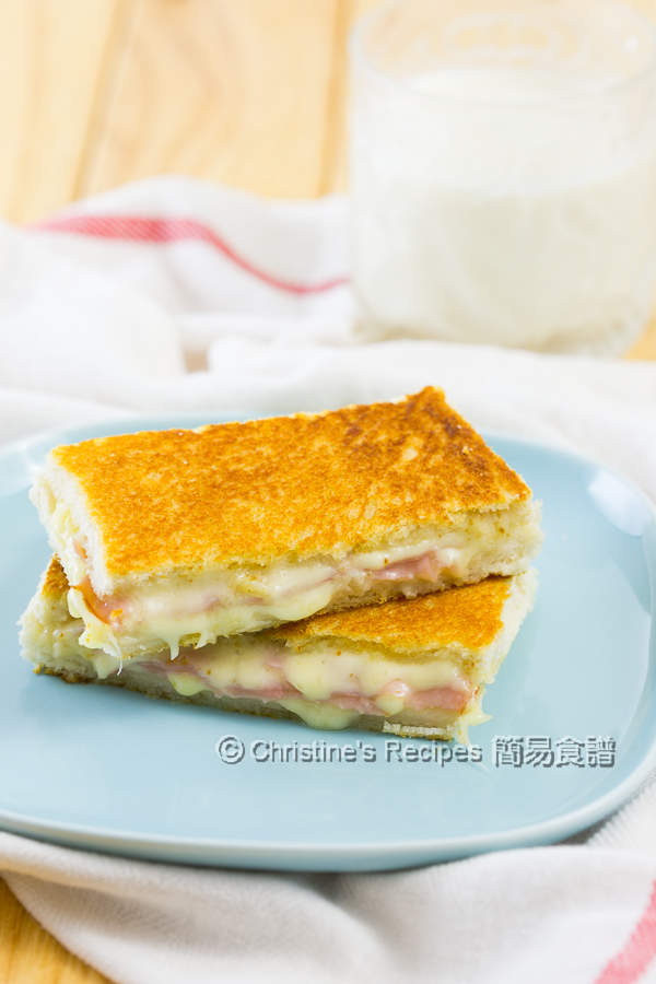 Ham & Cheese Sandwiches01
