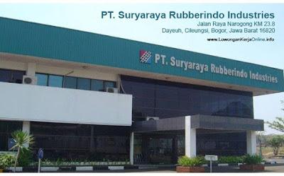 Lowongan Kerja FDR Tire PT Suryaraya Rubberindo Industries