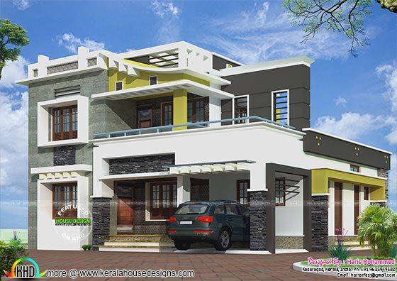 Modern home 2012 sq-ft
