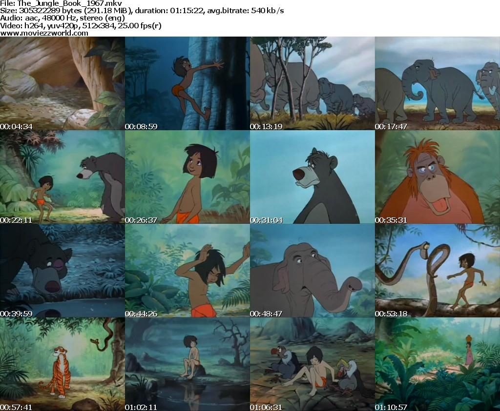 Disney Jungle Book 1967 Dvdrip