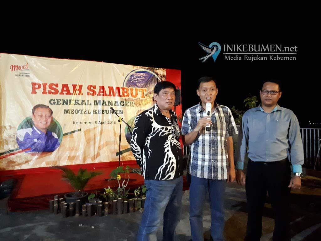 2,5 Tahun jadi GM Meotel Kebumen, Doni Avianto Pindah Tugas ke Bali