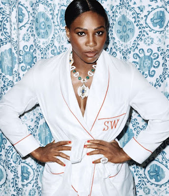 Serena Williams models photo shoot for WSJ Magazine
