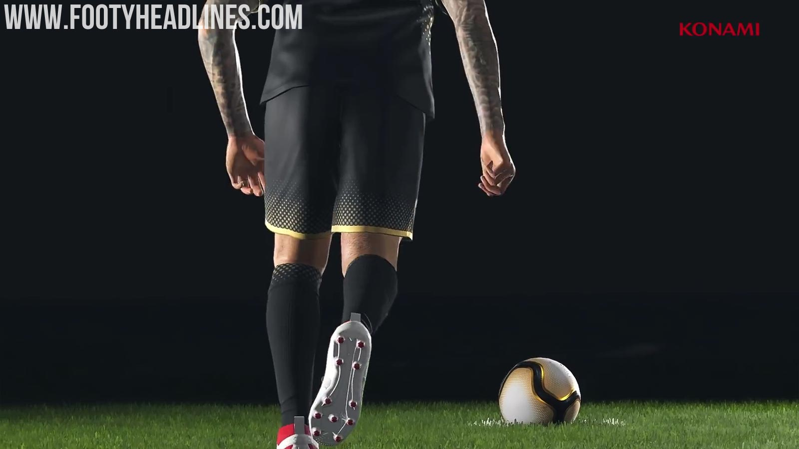 Konami Confirms Leaked Beckham Boots Exclusive To Pes 2019