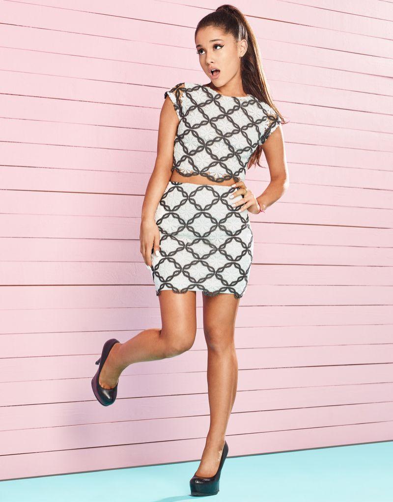 071e8b9954d Ariana Grande For Lipsy Lace Co- Ord Crop Top   Ariana Grande For Lipsy Lace  Co- Ord Skirt