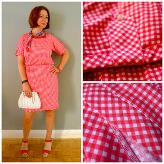 Our beautiful Red Gingham!