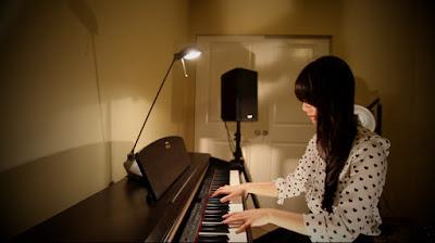 Tiếng đàn piano như những nốt lặng của cảm xúc