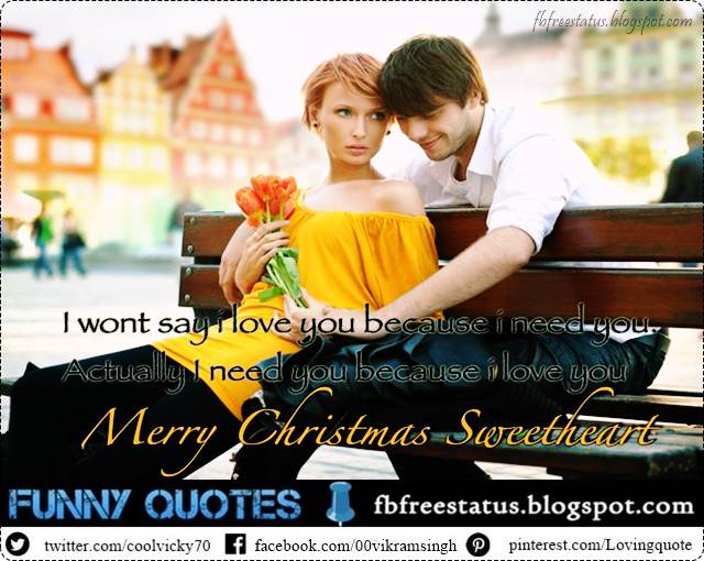 Christmas Messages for Lover, Christmas Love Messages for Her