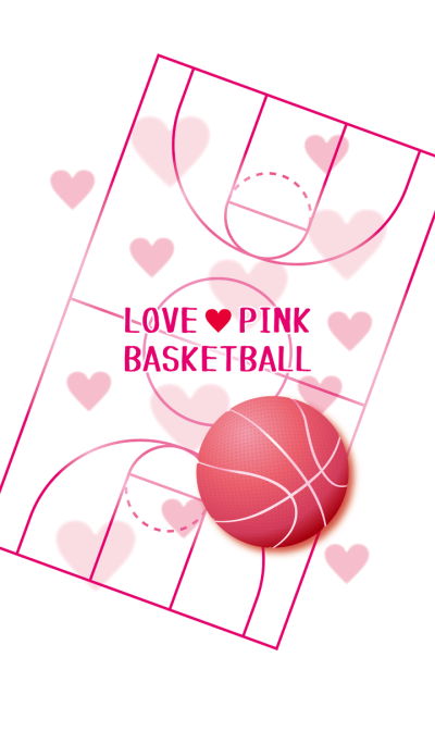 Love Pink Basketball