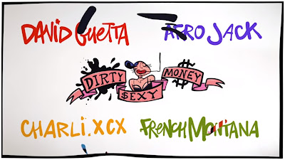 David Guetta & Afrojack - Dirty Sexy Money ft. Charli XCX & French Montana (#Lyric #Video)