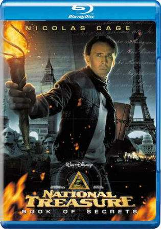 National Treasure Book of Secrets 2007 BRRip 350Mb Hindi Dual Audio Watch Online Full Movie Download bolly4u