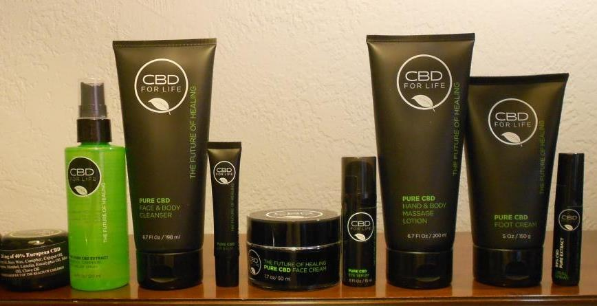 CBD for Life Cannabidiol Products