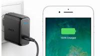 Ricarica veloce la batteria su smartphone Android o iPhone