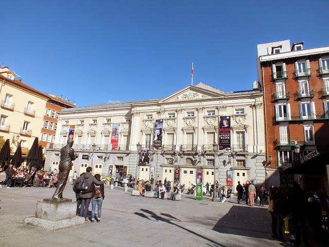 Santa Ana en Madrid