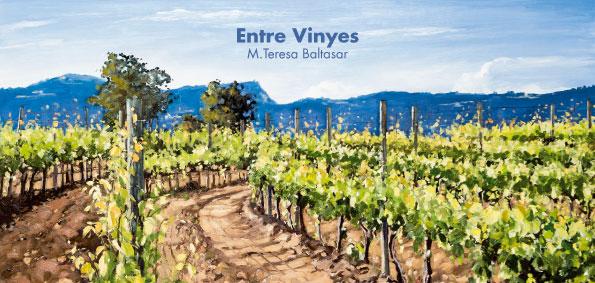 Esguard de Dona - Exposició Entre Vinyes a l'Espai d'Art Les Quintanes de Llorenç del Penedès - Festa Major 2017