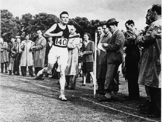 Alan Turing esportista.