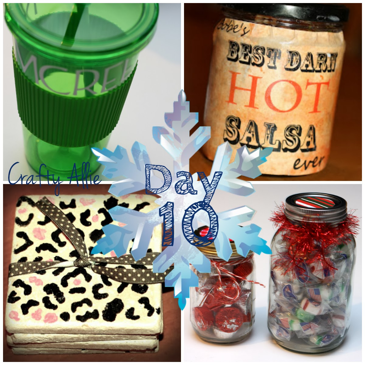 Small Christmas Gifts.Crafty Allie 12 Days Of Christmas Day 10 Small Christmas