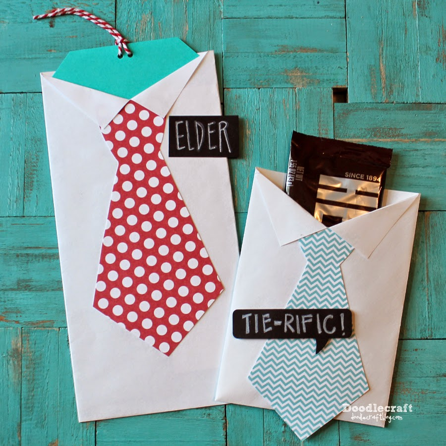 http://www.doodlecraftblog.com/2014/08/shirt-and-tie-treat-holders-from.html