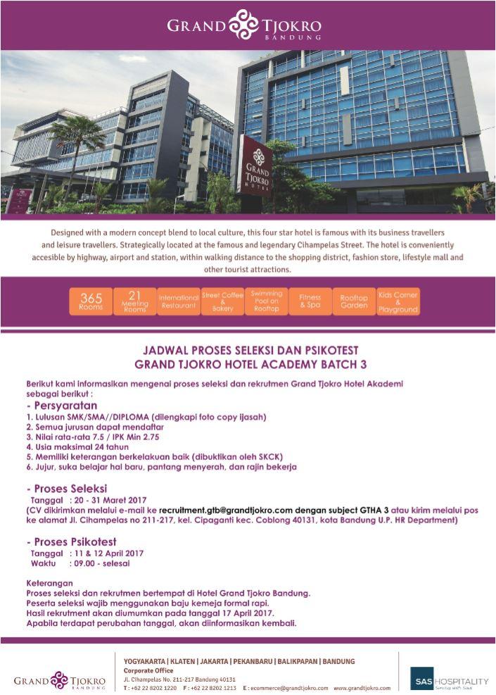 Lowongan Kerja Hotel Grand Hyatt Jakarta Lokercumacuma