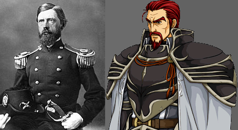 John F. Reynolds of Civil War Battle of Gettysburg and Bryce Fire Emblem: Path of Radiance