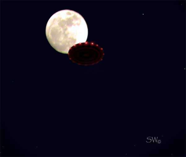 UFOs- Lights In The Texas Sky: New Port Richey, Florida