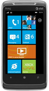 HTC Surround Windows Phone for AT&T
