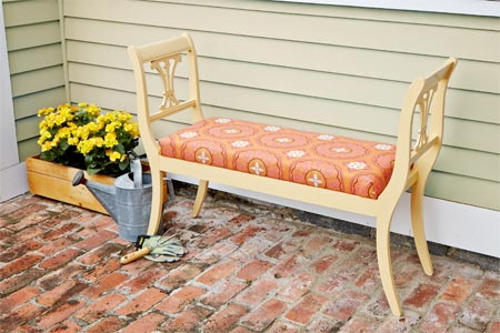 Brilliant Diy Bench Chairs Diy Double Chair Bench Howtospecialist How Lamtechconsult Wood Chair Design Ideas Lamtechconsultcom
