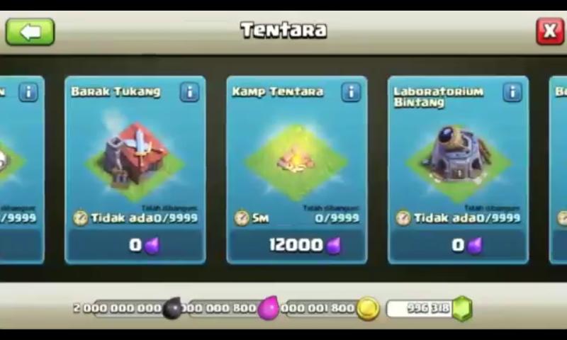Clash Of Clans MOD Apk (Unlimited Gems/Unlimited Gems) Town Hall 12