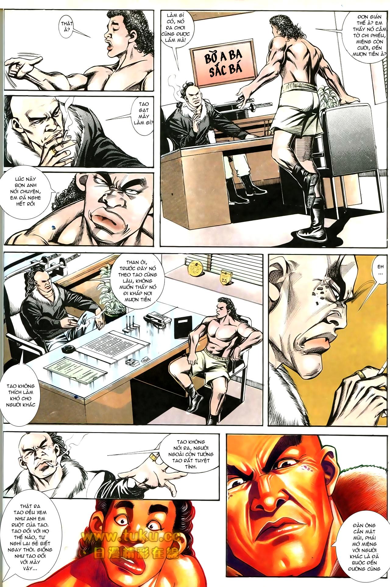 Người Trong Giang Hồ chapter 193: mưu kế đầy bụng trang 17