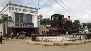 Cara Naik Gojek Grab di Stasiun Bandung yang Aman