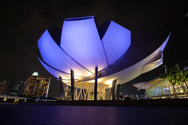ArtScience museum-Singapore