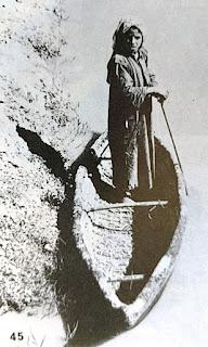 Madan zaima, a reed bundle boat