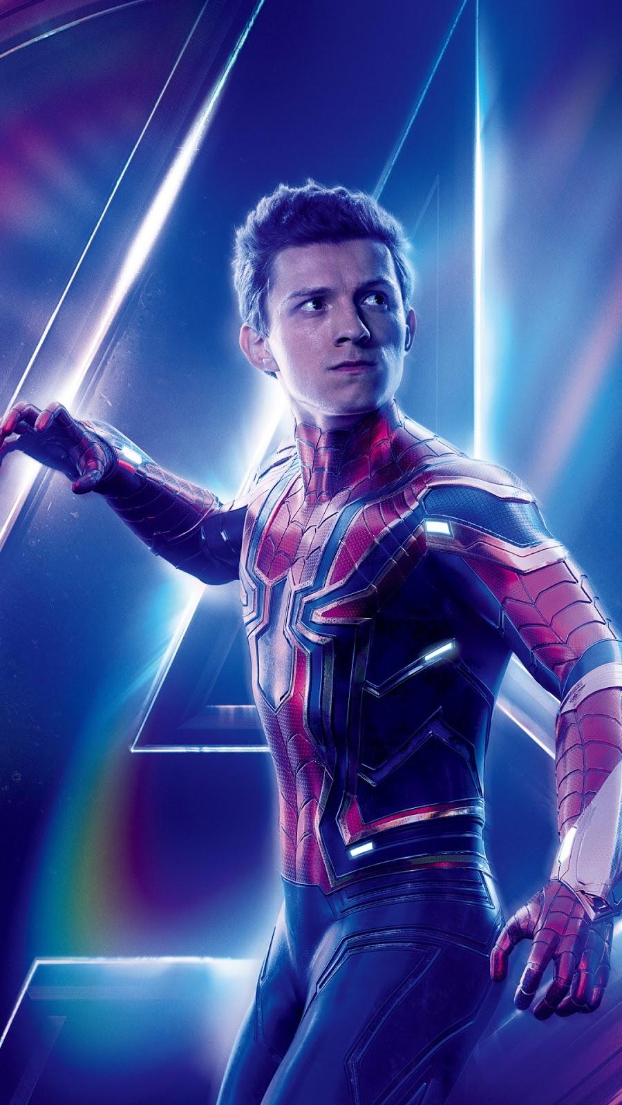 Spider Man Avengers Infinity, Tom Holland, Vingadores: Guerra Infinita para PC, Notebook, iPhone, Android e Tablet.