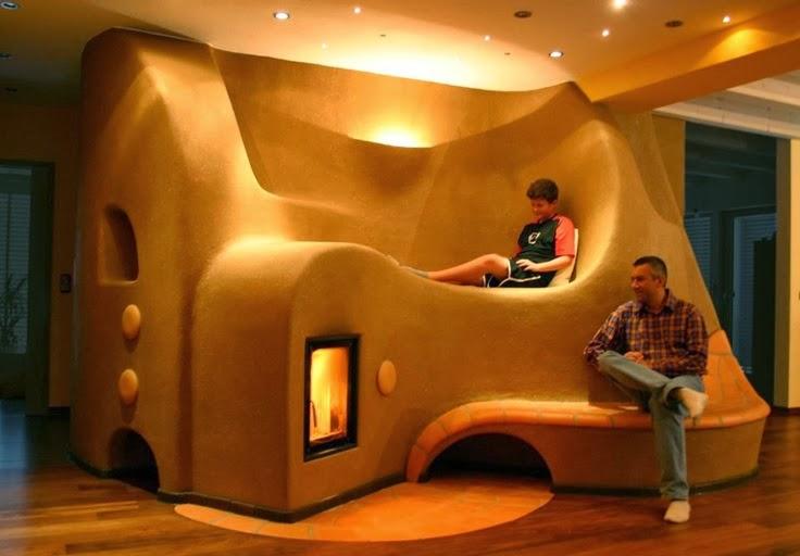 Budujemy z gliny piec rakietowy i kominki lehm und feuer for Ego home interior