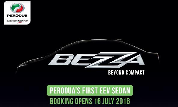 gambar Perodua Bezza