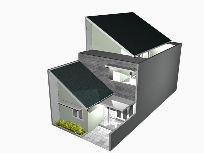 Alhamdulillah kami telah memiliki rumah di kawasan kampus Desain Kost Di Atas Tanah 6.5 m x 15 m