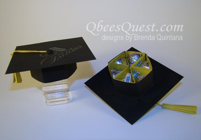 Origami Graduation Hat Tutorial - Paper Kawaii | 448x640