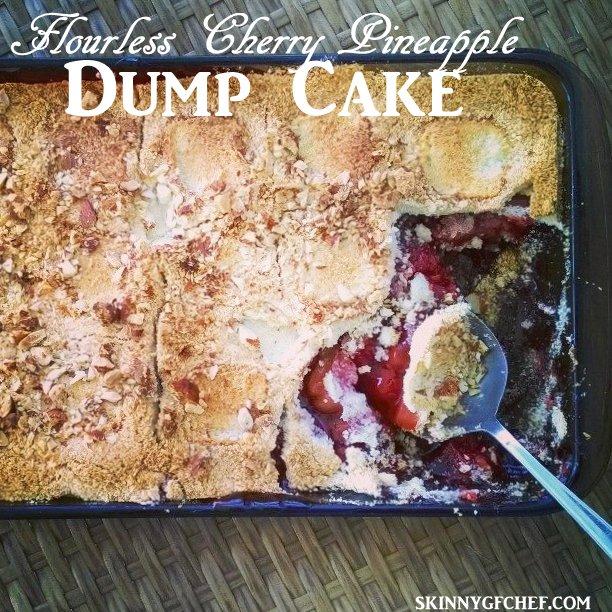 Flourless Cherry Dump Cake