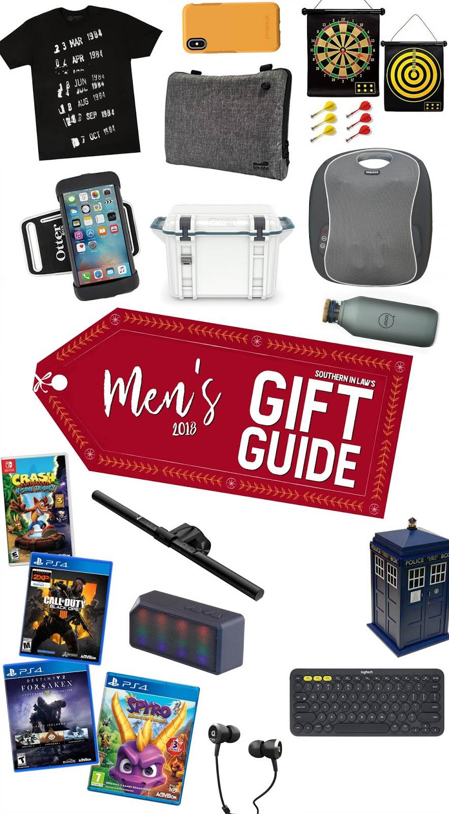 Southern In Law's Men's Christmas Gift Guide 2018