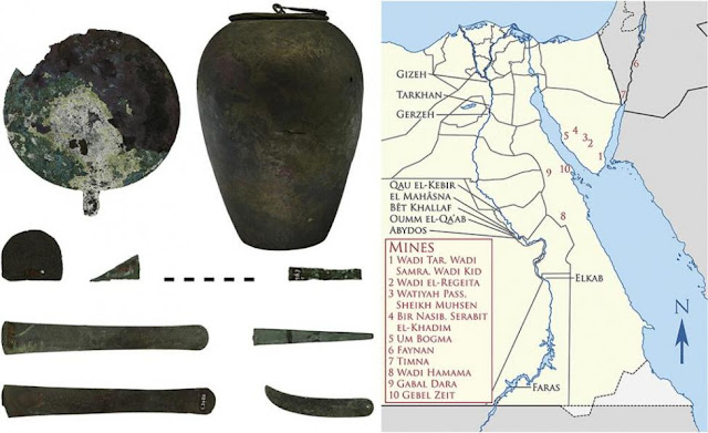 Rediscovering the sources of Egyptian metals