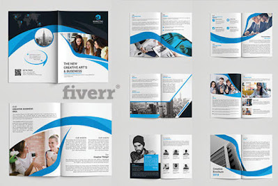 Create a Brochure Design And Proposal Templates