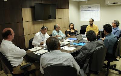 Representantes da CONAE participam de reunião da Diretoria Executiva