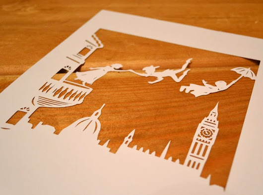 Peter Pan Papercut Collection ~ Paper Petal Paper Cutting
