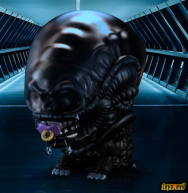 Baby Xenomorph – Daily Inspiration Quotes