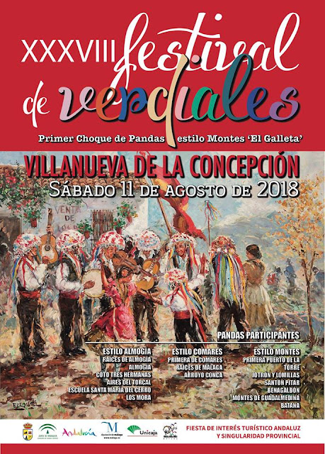 Festival de Verdiales de Villanueva de la Concepción 2018