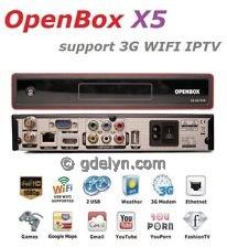 receiver parabola openbox x5