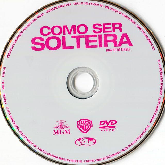 Capa DVD Como Ser Solteira (Oficial)