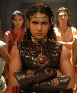 Foto Rajat Tokas sebagai Prithviraj Chauhan