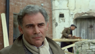 Volonte played the writer Carlo Levi in Francesco Rosi's 1979 film Christ Stopped at Eboli