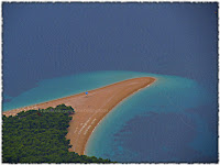 Zlatni rat Bol slike otok Brač Online